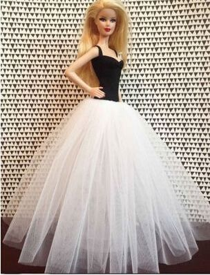 2014 New Arrival Fashion Evening Dress For Barbie Dollwedding