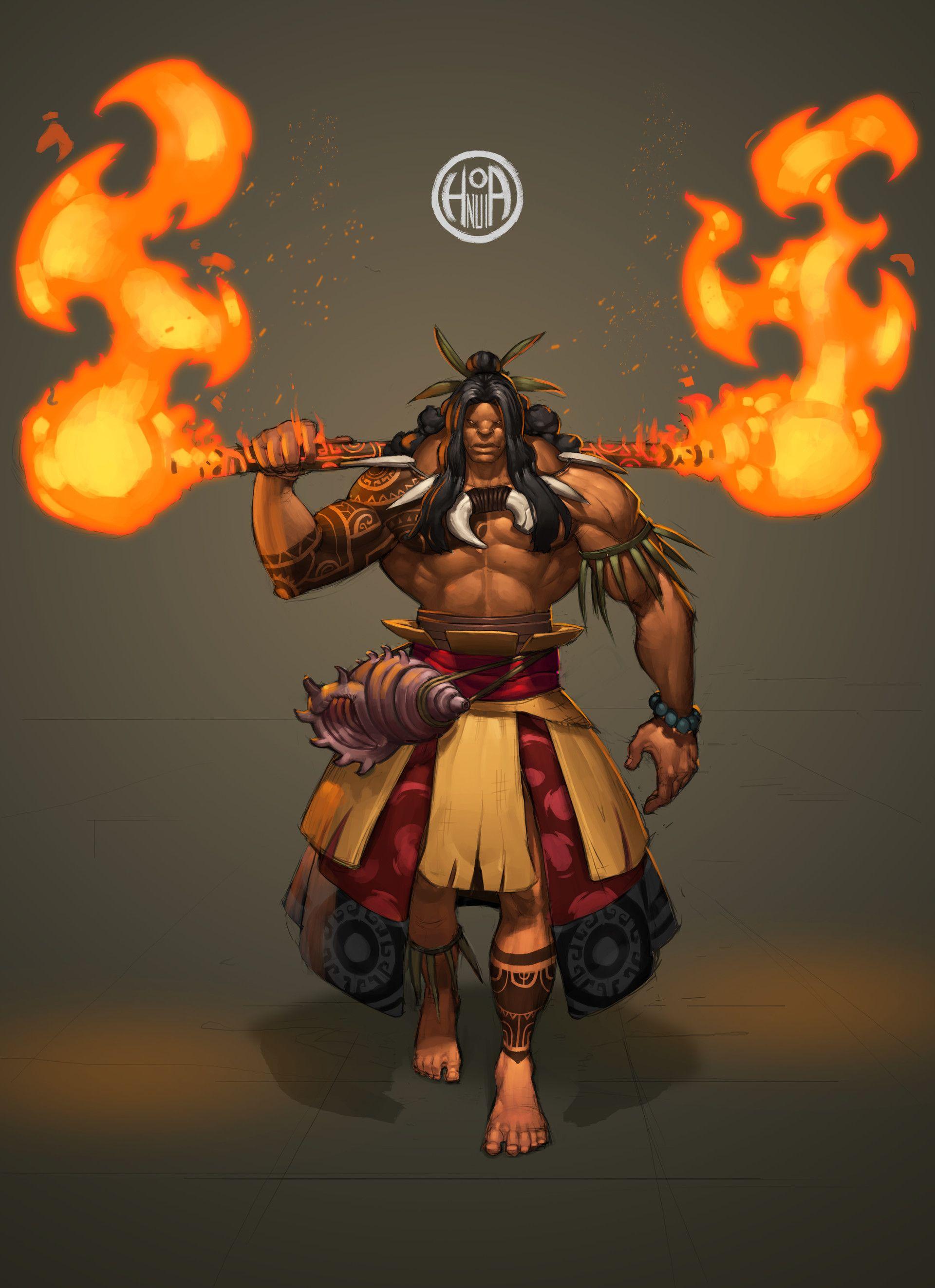 Various Maori Krieger Reference Of Artstation - Cdc (maori Warrior) - Oro,