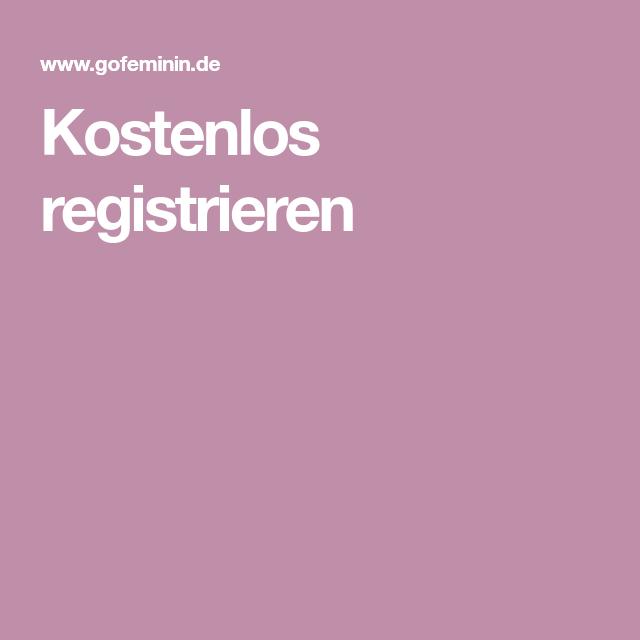 Kostenlos Registrieren!