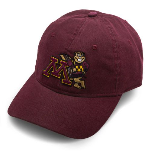 fddac8c7880 Goldy M Minnesota Gophers Back Baseball Cap