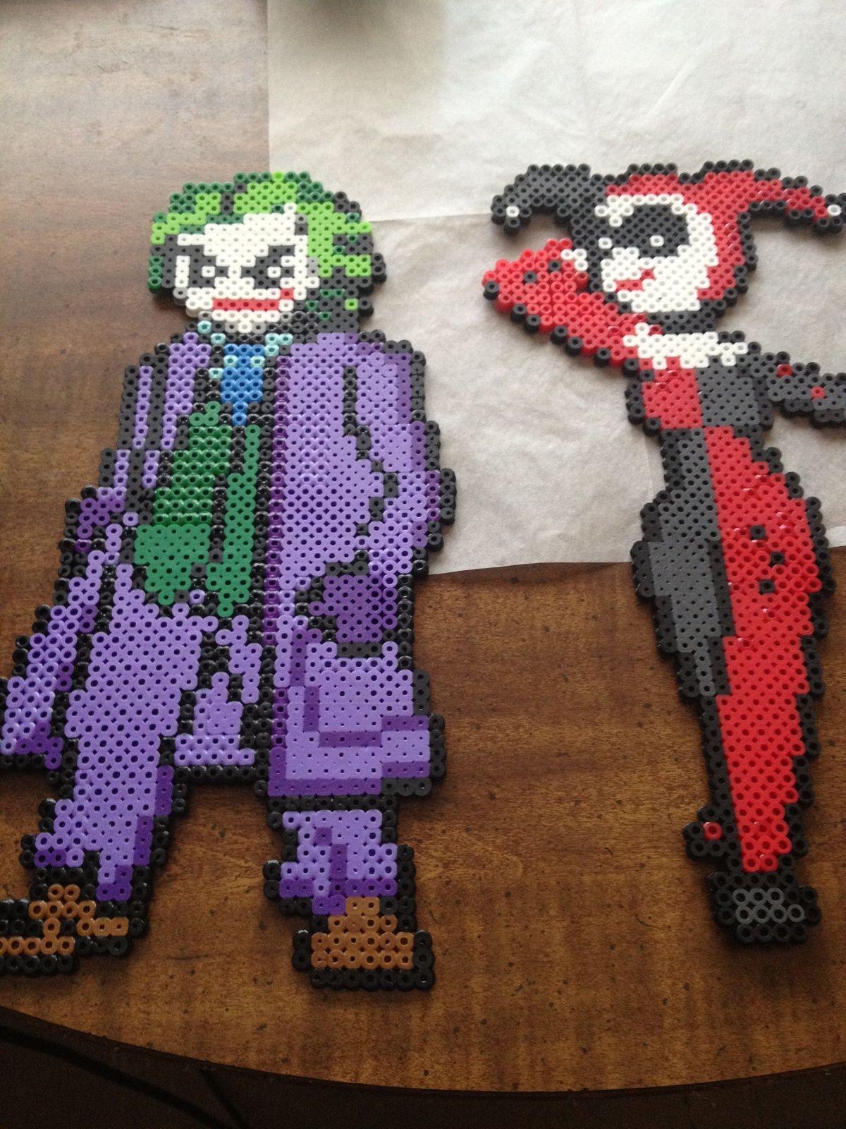 The Joker Perler Beads By Cincintin Bugelperlen Bugelperlen