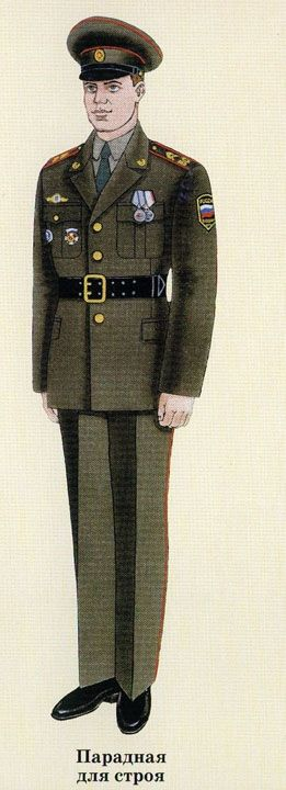 Форма внутренних войск, мВД, россии : парадная, повседневная, старая и фото
