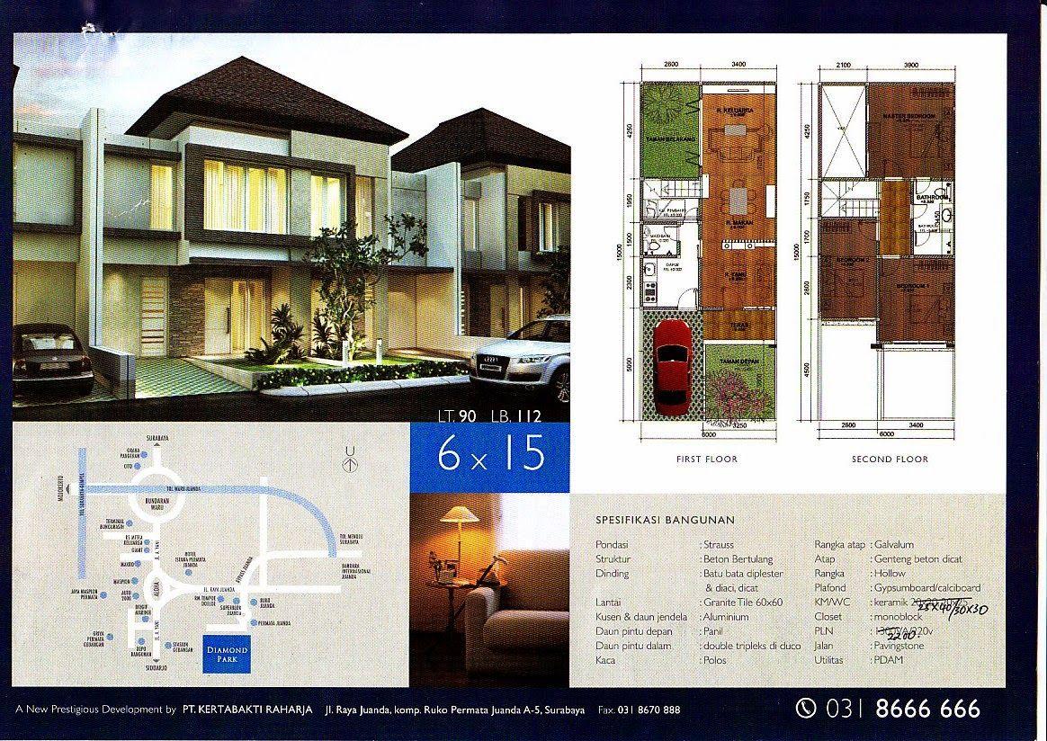 Desain Rumah Minimalis 2 Lantai 6 X 15 Gambar Foto Desain Rumah Arsitektur Rumah Arsitektur Desain Rumah