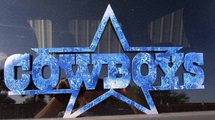 Dallas cowboys custom metal art cutout 1514 x 834