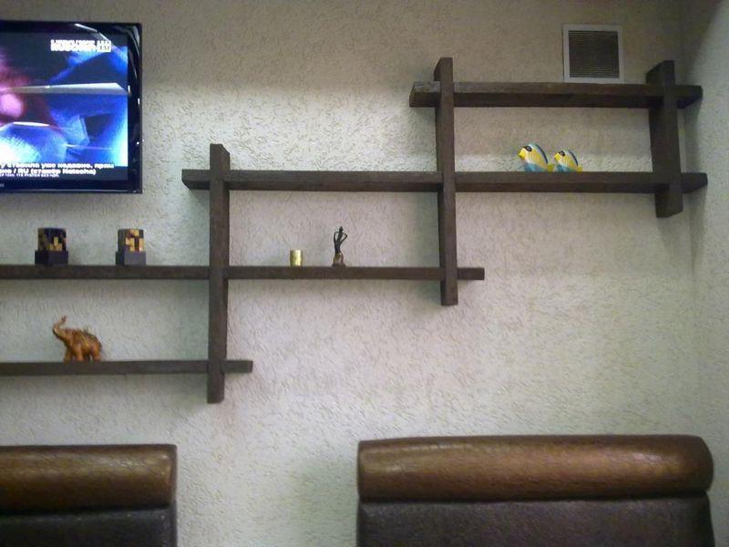 Полки для книг на стену необычные | Дизайн полок, Дизайн ...