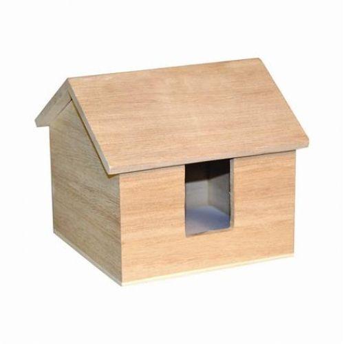 papier maison bois - faire une maison en 3d