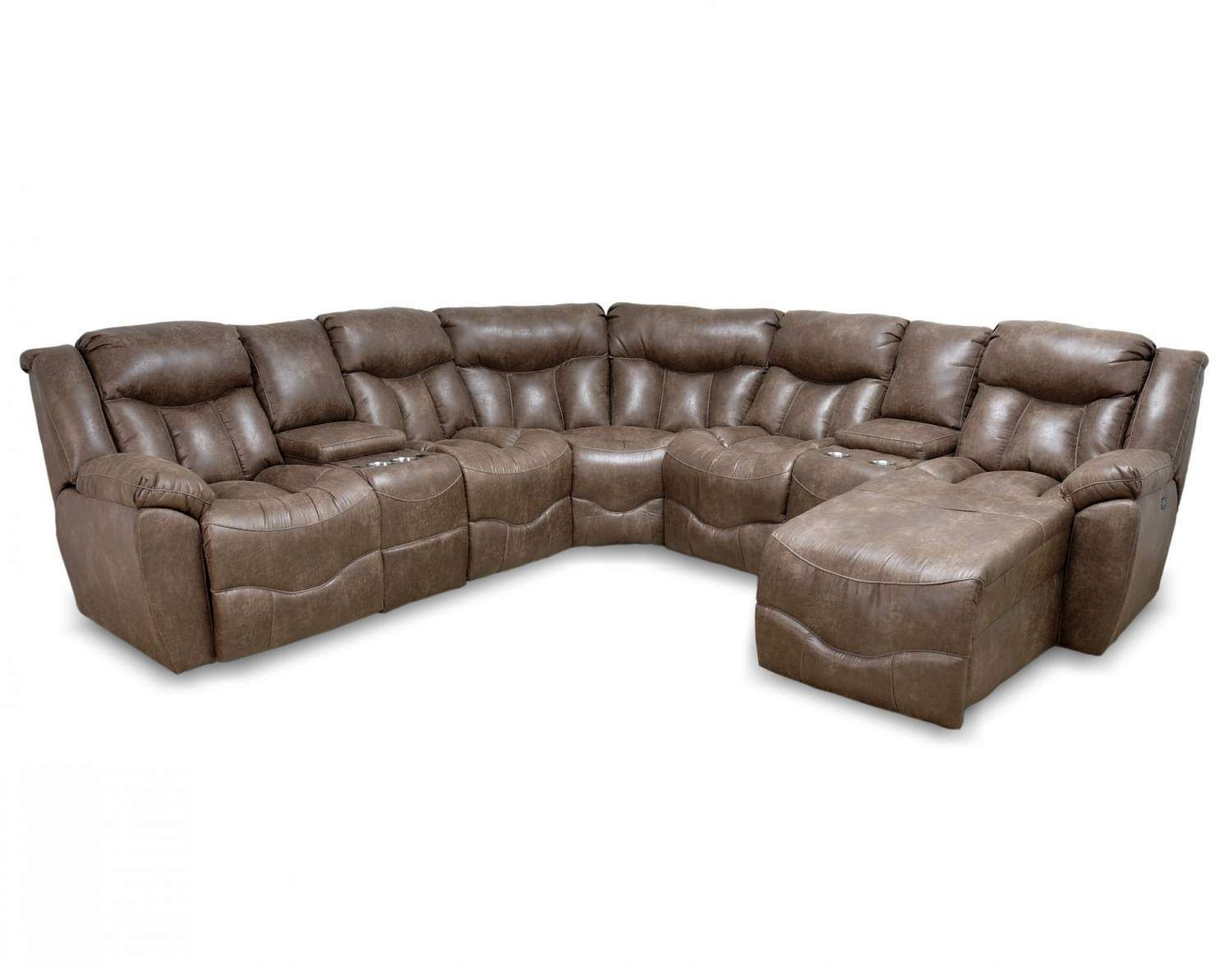 Couch Leder Cappuccino Power Motion Sectional Ffo Home Home Decor