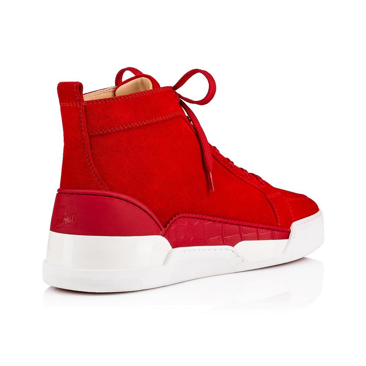 85d4c2ad699 Rankick Flat Loubi Suede - Men Shoes - Christian Louboutin in 2019 ...