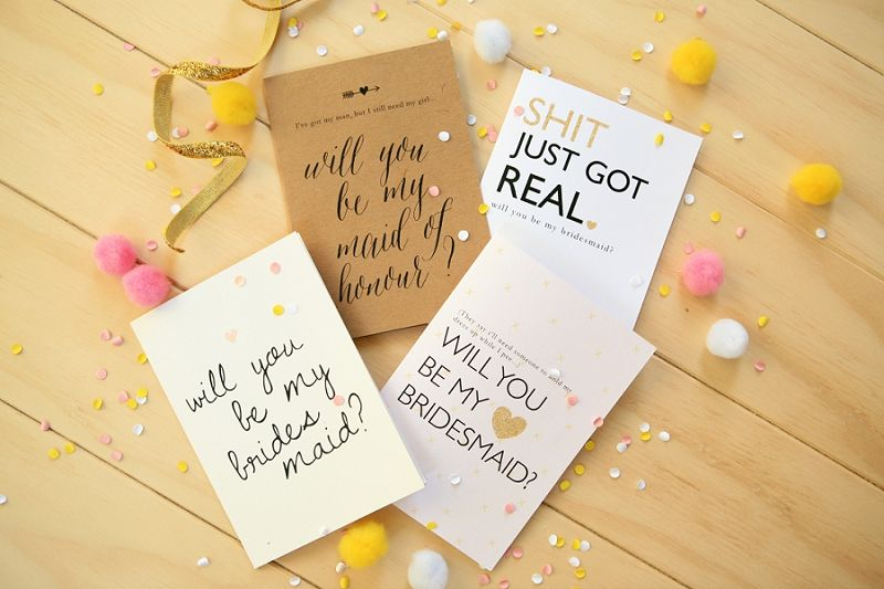 FREE Will You Be My Bridesmaid Printables Exclusive to P\L! Free - basic p amp amp l template