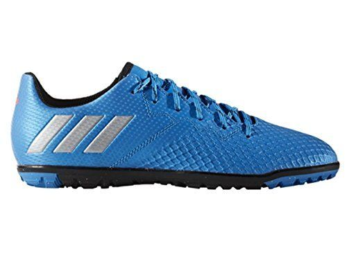 Adidas Performance Kids Messi 16 3 Turf Soccer Cleats Shock Blue Matte Silver Black 6 M Us Big Kid Soccer Shoes Boy Fashion Go Big Blue
