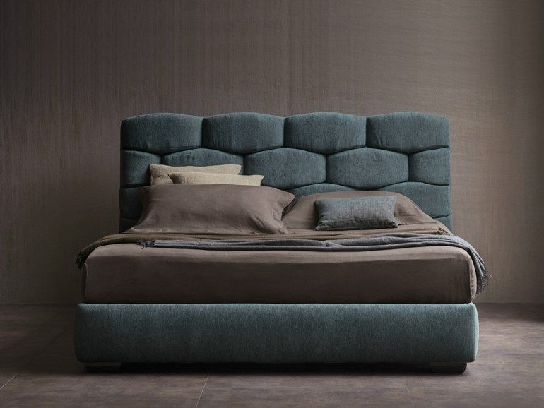 Double bed MAJAL Bed - Flou W 卧室/床头柜 Pinterest Double