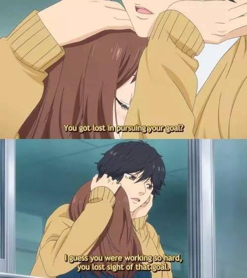 ~Ao Haru Ride~ dat hug c:
