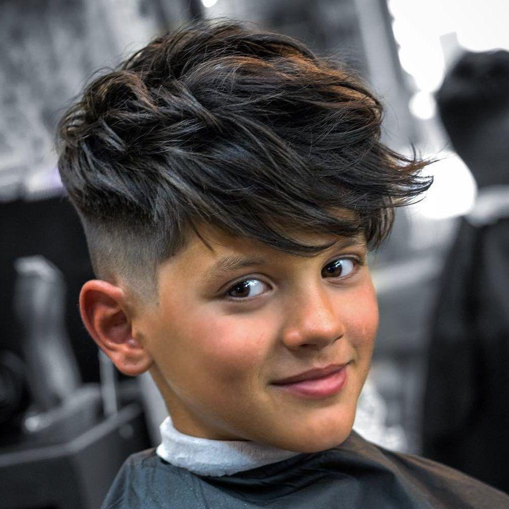 Moderne Jungen Frisur 2020