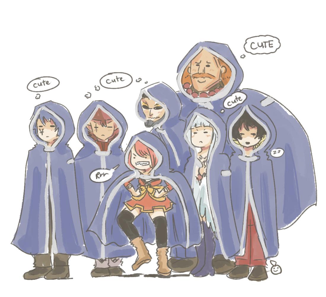 Fairy Tail - Oración Seis