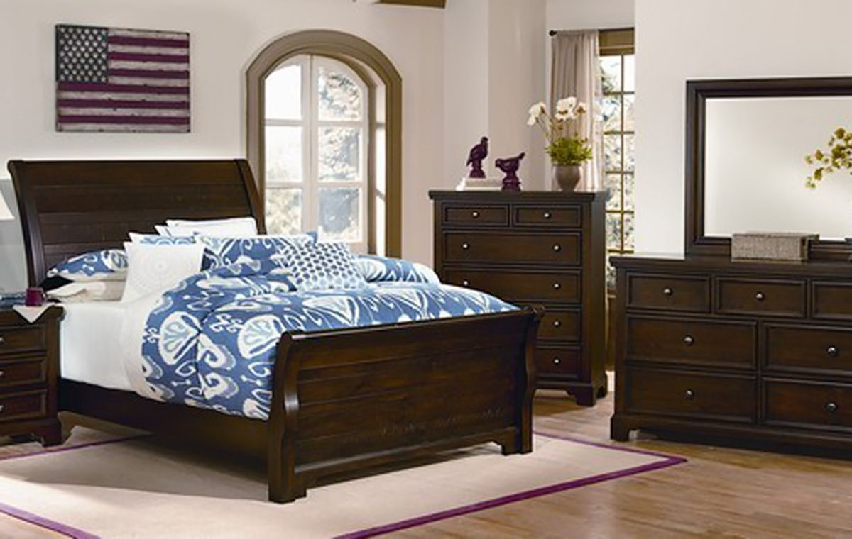 Vaughan Bassett Hanover Bedroom Collection Furniture Market