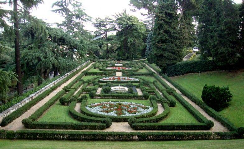 Gardens Of Vatican Vatikanische Garten Garten Vatikan