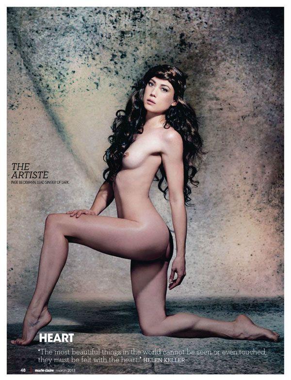 Marie clarie nude