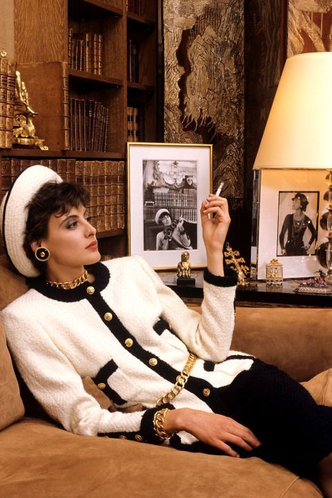 Ines de la Fresange. Chanel.