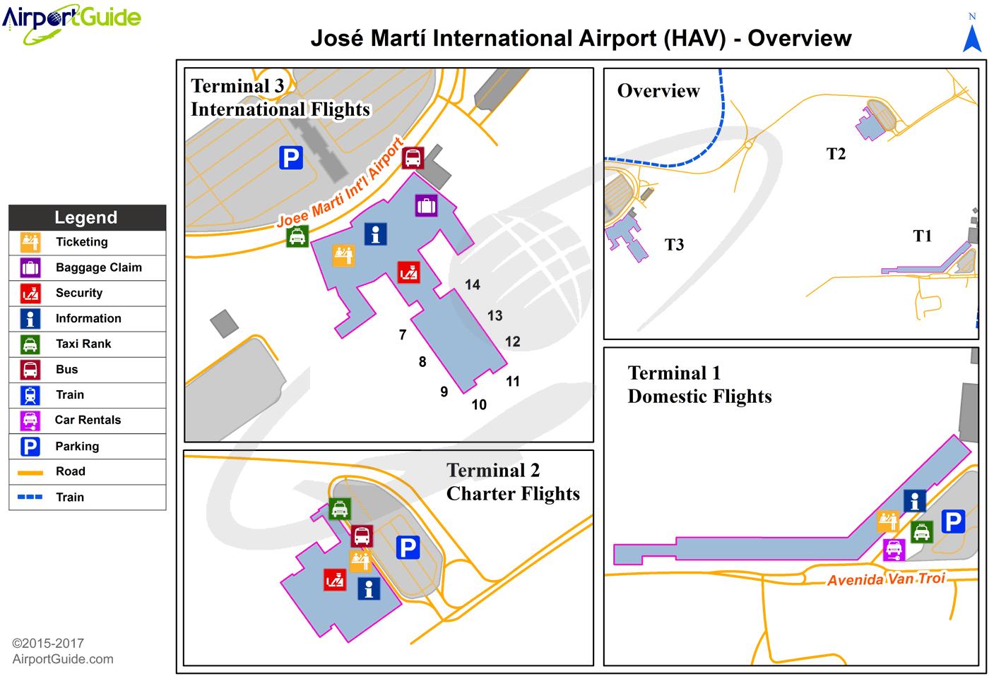 Havana José Martí International (HAV) Airport Terminal