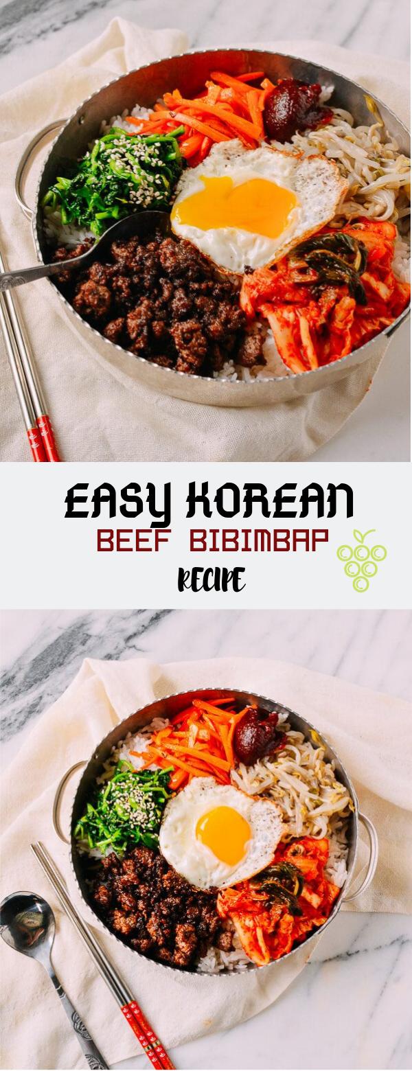 Easy Beef Korean Bibimbap Recipe images