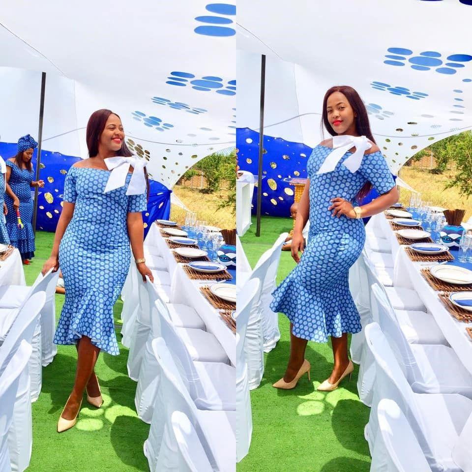 Umembeso Shweshwe Dresses 2019 In 2019