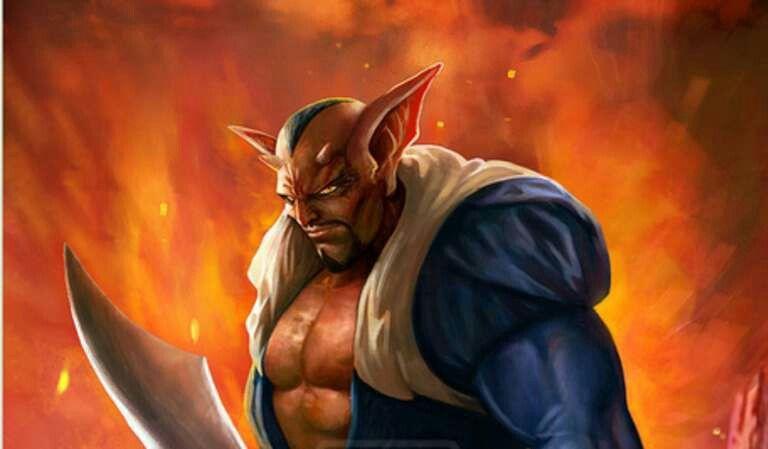Dabura Demon King Realistic Dragon Dragon Ball Z Fan Art