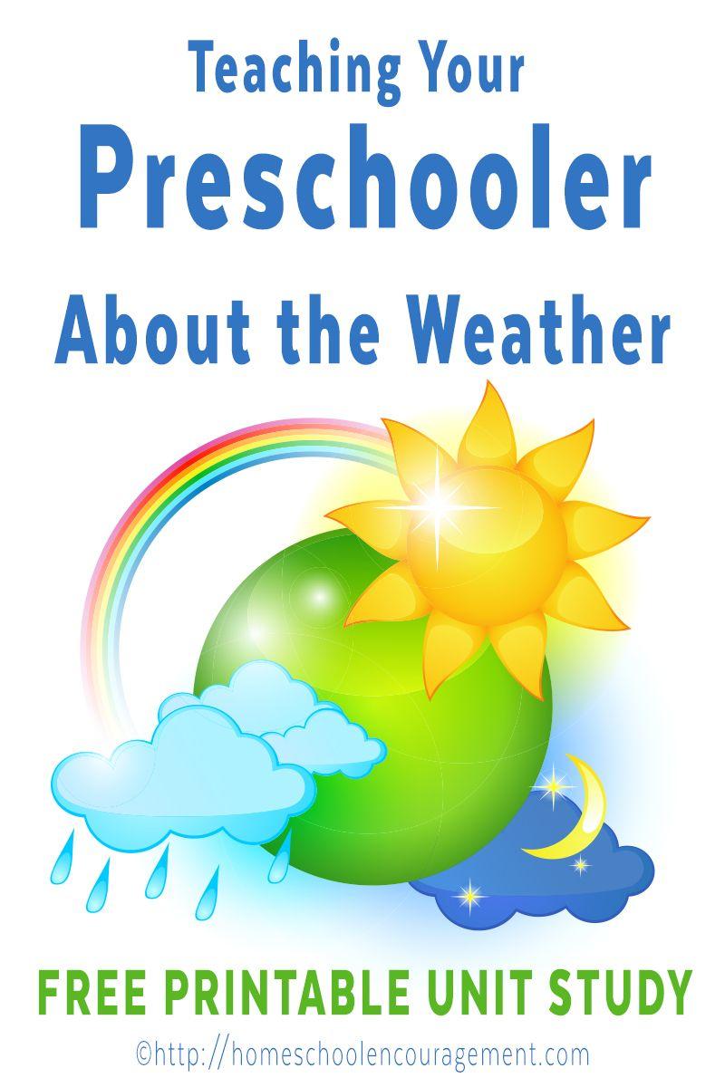 Výučba vaše Predškolák o počasí: Homeschool predškolské poveternostné štúdium Unit