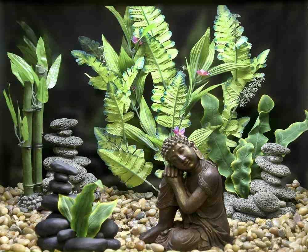 Asian Aquarium Decor Fish Tank Themes Fish Tank Decorations Betta Fish Tank