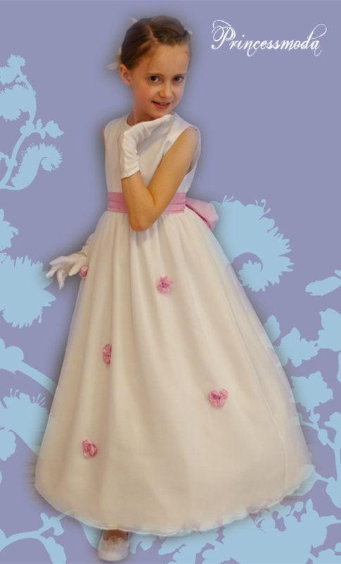 Langes Festkleid für kleine Damen! - Princessmoda - Alles ...