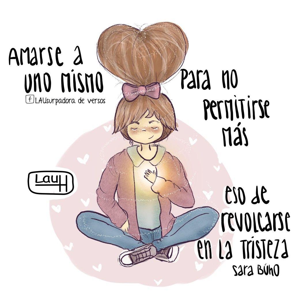 Amor A Una Misma 2 Frases De Amor Dibujos Con Frases Y