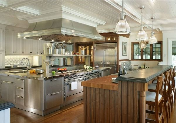 Stainless Steel Kitchens Ideas Inspiration Pictures