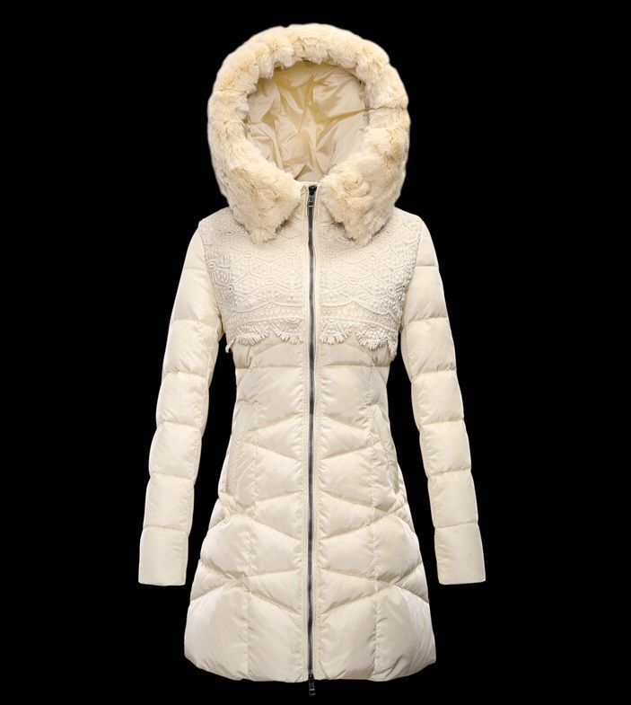 Manteau femme a capuche beige