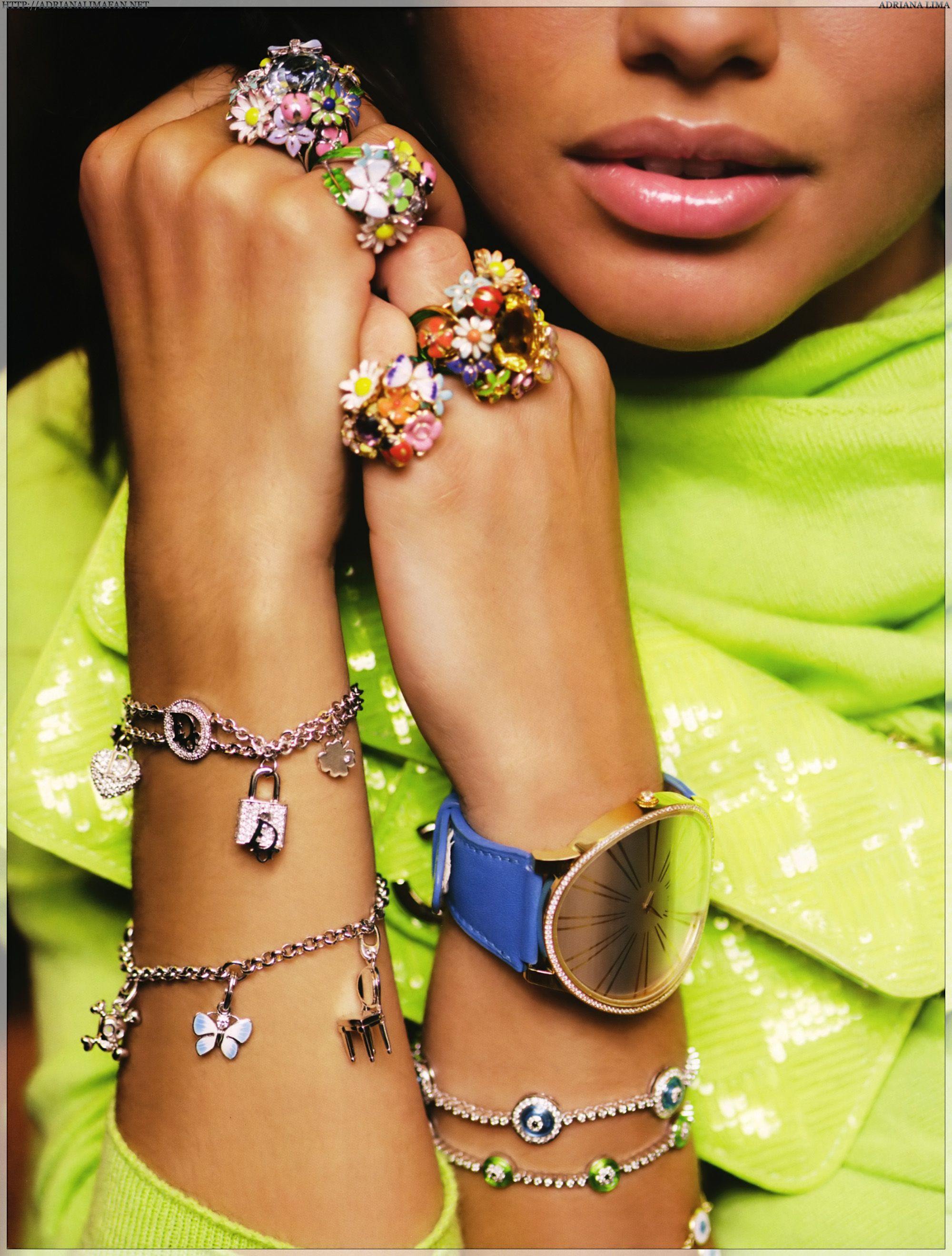Adriana Lima for Vogue '08