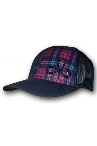 007e7393ade Cowboy Hooey - Jackpot Cloverleaf Trucker Hat (Multi-color Plaid ...