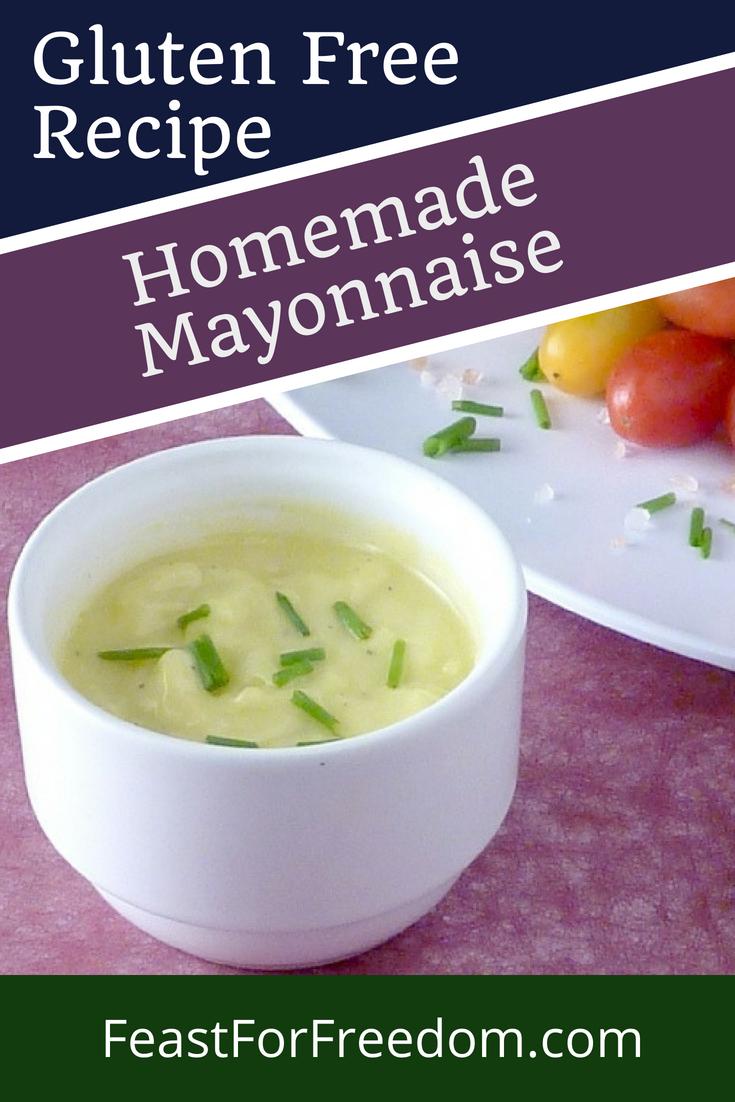 Homemade Mayonnaise gluten free Recipe Food recipes