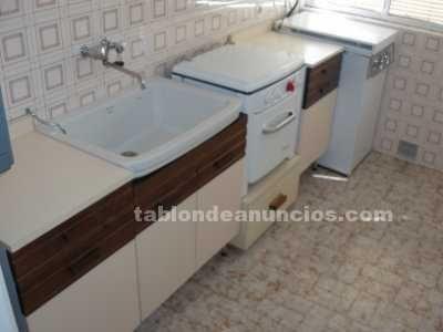 Conjunto cocina gas butano orbegozo, muebles bajos forlady y pila ...