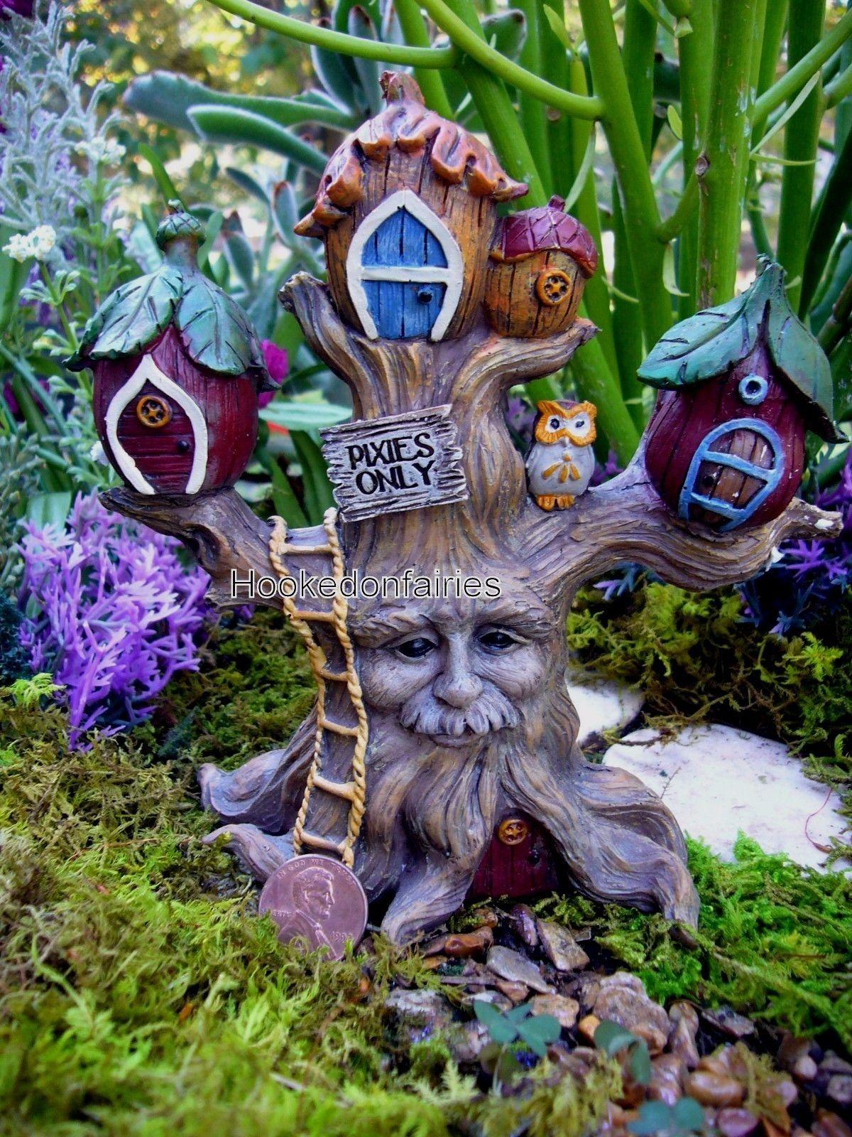 THE MAGICAL DOOR Friendship Boy Fairy Door 3 Piece Gift Set by Giftcraft