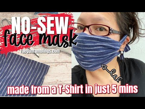 How to Make a Face Mask from a T-Shirt