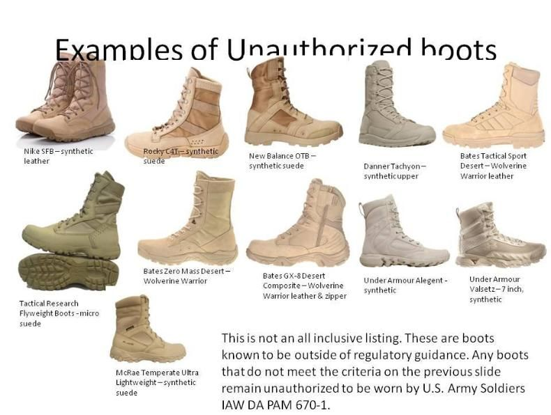 Boots, Army boots, Combat boots