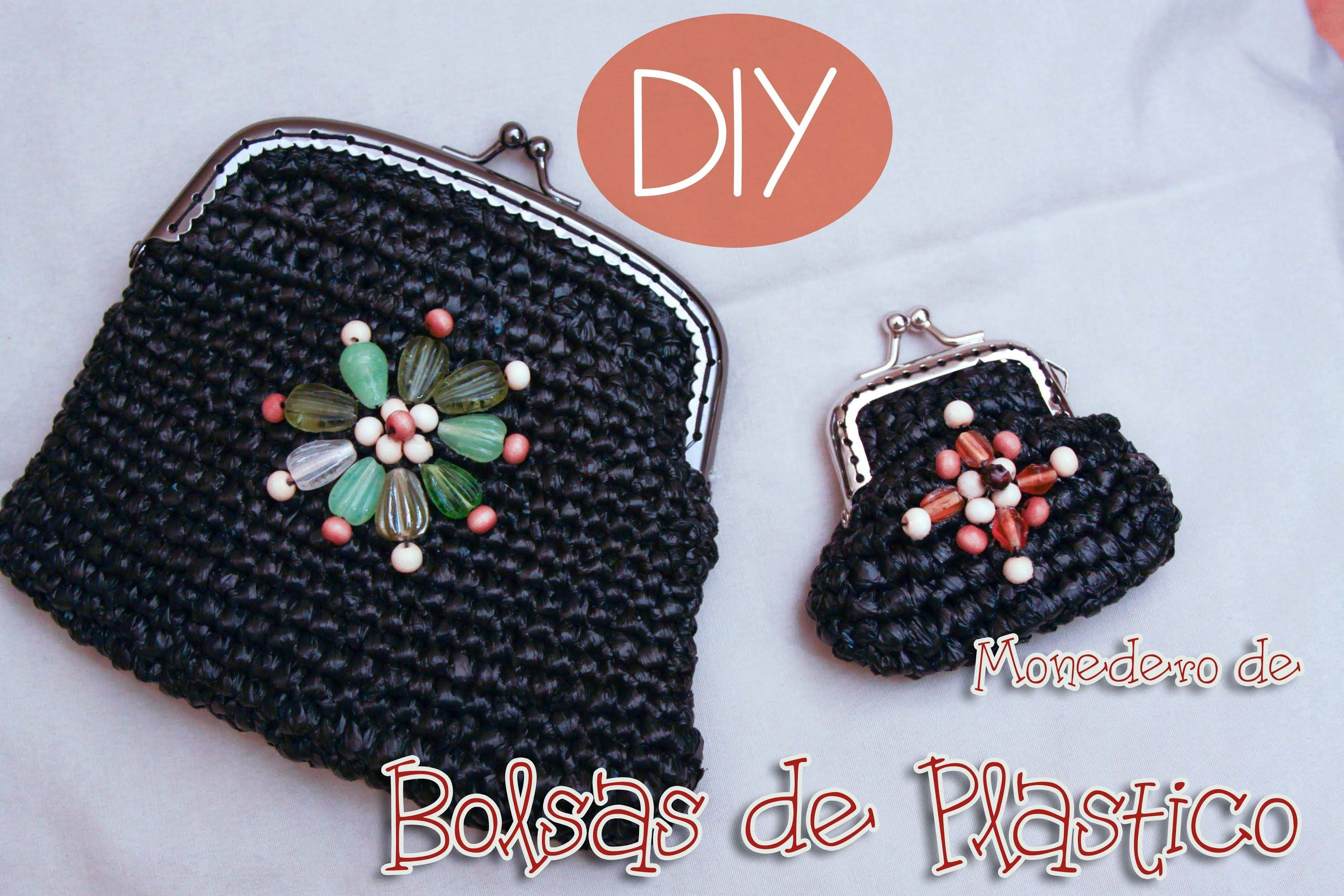 Monedero de bolsas de plastico | Knitting + Crocheting Tips ...