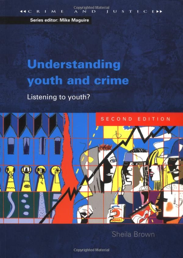 Understanding Youth And Crime Listening To Youth Crime Justice