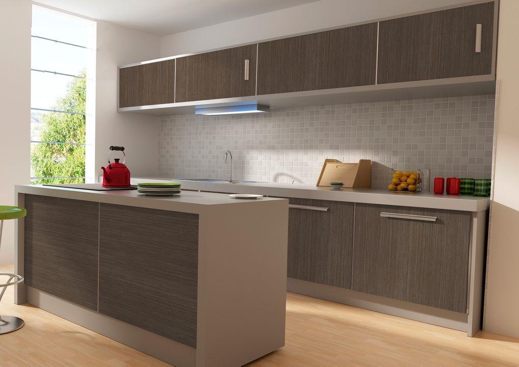 Cocinas de melamina buscar con google cocinas for Tableros para encimeras cocina
