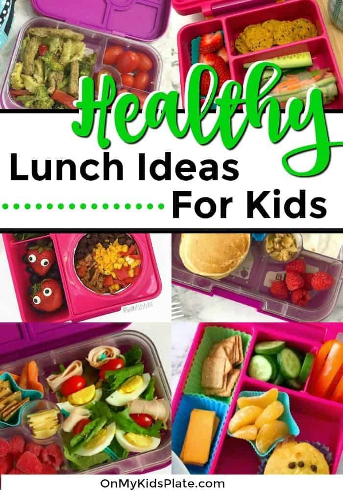 9 Healthy School Lunch Ideas For Kids Heading Back To School images