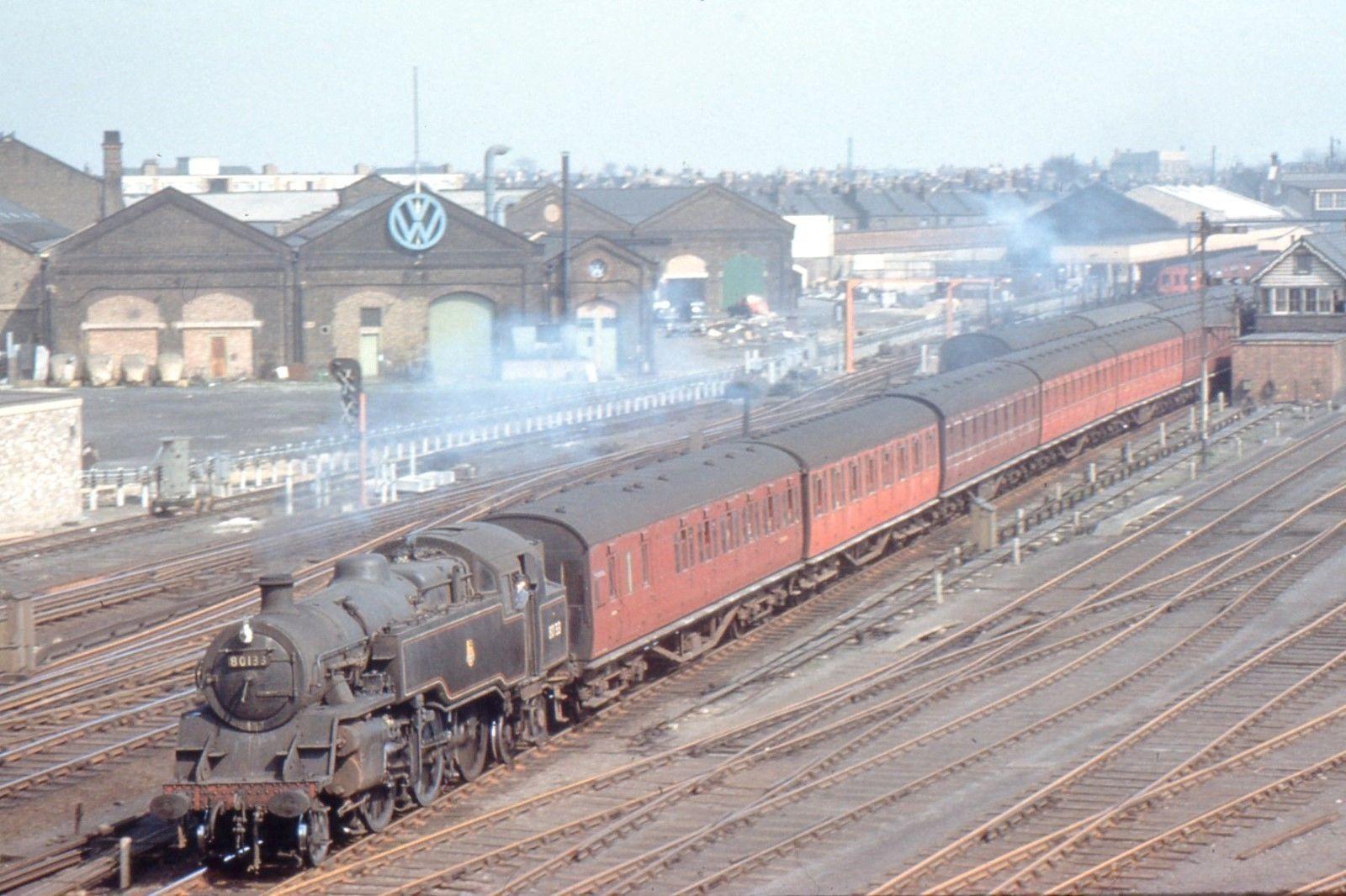Rare Photo Of Plaistow Vw Dealer Now Ford Heritage Railway