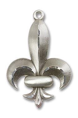 Sterling Silver Fleur de Lis Pendant 0292SS