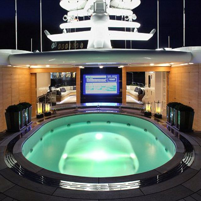 The wider view The new Candyscape luxury yacht that will blow your - jacuzzi interior