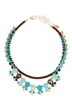 Natasha Accessories Stone Collar Necklace