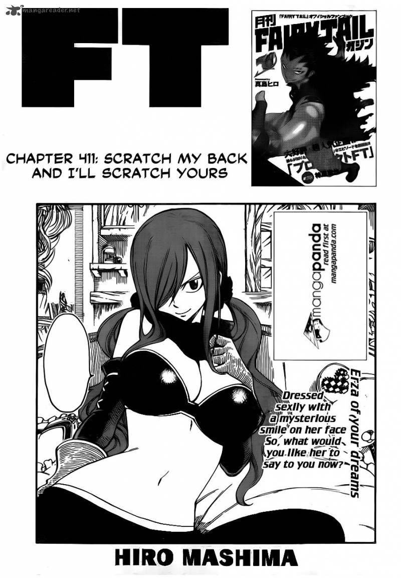 Fairy Tail - Scratch my back and I'll scratch yours - 1