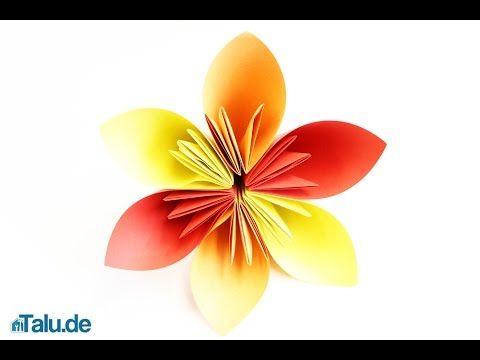 Photo of Origami Blume falten – Faltanleitung für eine Papierblume – Talu.de