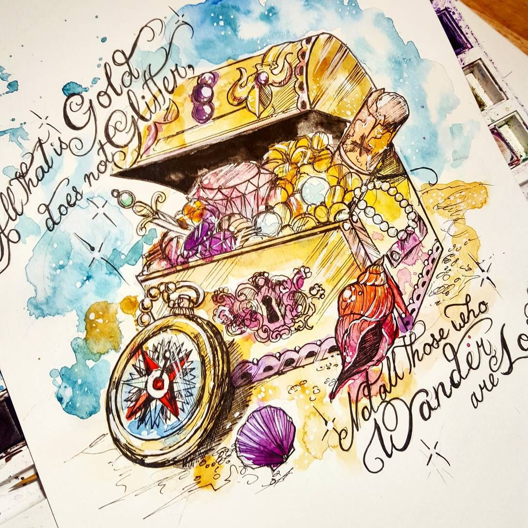All That Is Gold Does Not Glitter Not All Those Who Wander Are